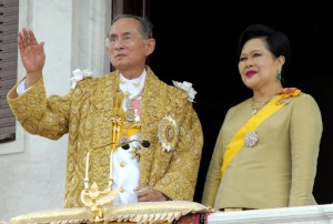 thailand king and queen
